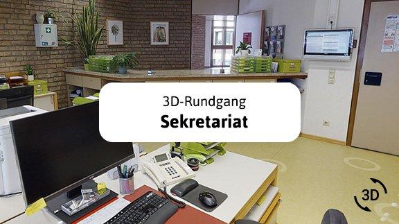Sekretariat 3D Rundgang